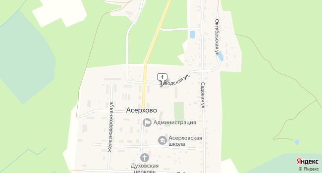 Купить торговую площадь 177 м<sup>2</sup> в Собинке по адресу Россия, Владимирская область, Собинский район, поселок Асерхово