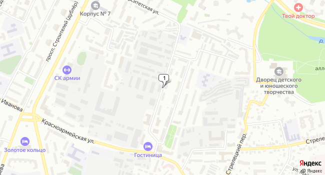 Арендовать офис 325 м<sup>2</sup> в Владимире по адресу Россия, Владимир, улица Перекопский Городок