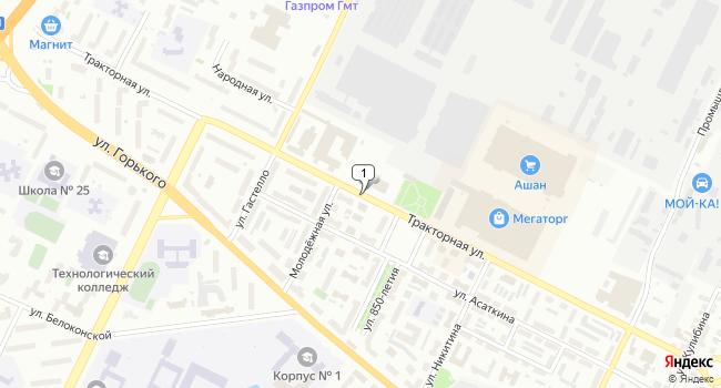 Арендовать офис 45 м<sup>2</sup> в Владимире по адресу Россия, Владимир, Тракторная улица