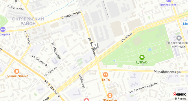 Арендовать офис 123 м<sup>2</sup> в Владимире по адресу Россия, Владимир, улица Батурина
