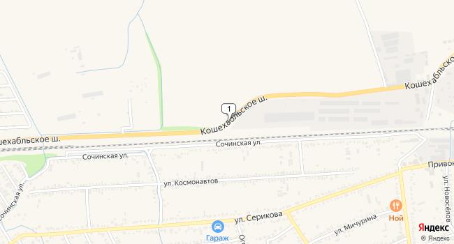 Купить коммерческую недвижимость 790 м<sup>2</sup> в Курганинске по адресу Россия, Краснодарский край, Курганинск, Кошехабльское шоссе