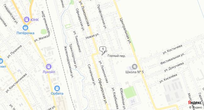 Купить земельный участок 1100 м<sup>2</sup> в Лабинске по адресу Россия, Краснодарский край, Лабинск, Горный переулок