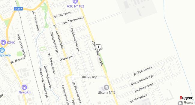 Купить земельный участок 2000 м<sup>2</sup> в Лабинске по адресу Россия, Краснодарский край, Лабинск, Центральная улица