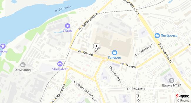 Арендовать коммерческую недвижимость 1843 м<sup>2</sup> в Костроме по адресу Россия, Кострома, улица Ткачей, 5А