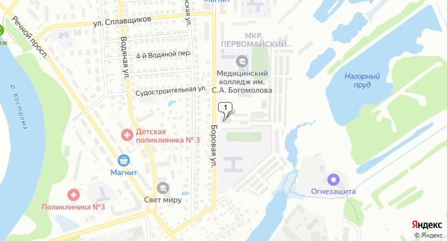 Арендовать коммерческую недвижимость 4000 м<sup>2</sup> в Костроме по адресу Россия, Кострома, поселок Первомайский, Боровая улица, 4