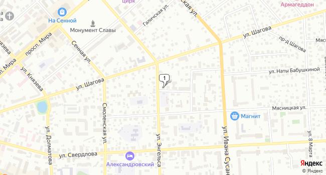 Арендовать коммерческую недвижимость 8 м<sup>2</sup> в Костроме по адресу Россия, Кострома, Мясницкая улица, 19