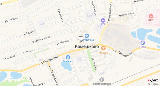 Купить коммерческую недвижимость 965 м<sup>2</sup> в Камешково по адресу Россия, Владимирская область, Камешково, улица Ленина, 11