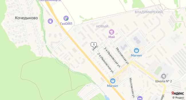 Купить торговую площадь 90 м<sup>2</sup> в Кохме по адресу Россия, Ивановская область, Кохма, Ивановская улица, 90