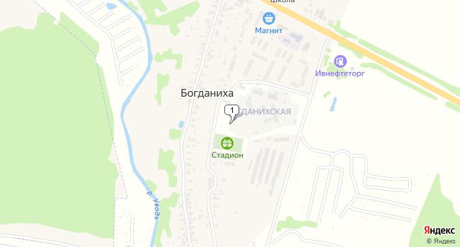Купить торговую площадь 102 м<sup>2</sup> в Кохме по адресу Россия, Ивановская область, Ивановский район, деревня Богданиха