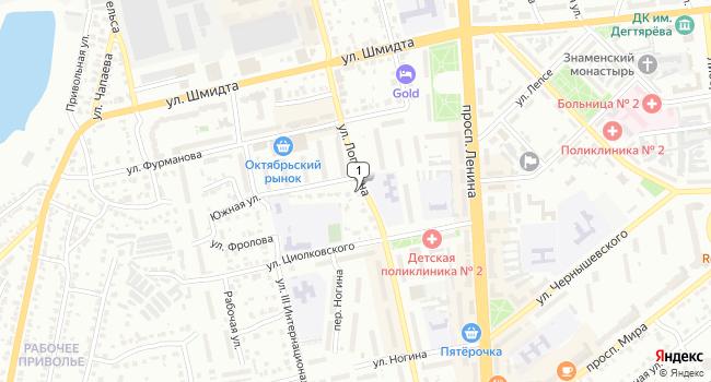 Арендовать торговую площадь 95 м<sup>2</sup> в Коврове по адресу Россия, Владимирская область, Ковров, улица Лопатина, 17