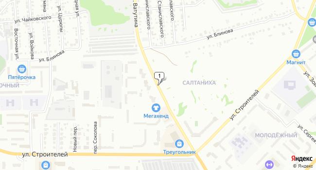 Арендовать офис 100 м<sup>2</sup> в Коврове по адресу Россия, Владимирская область, Ковров, улица Ватутина