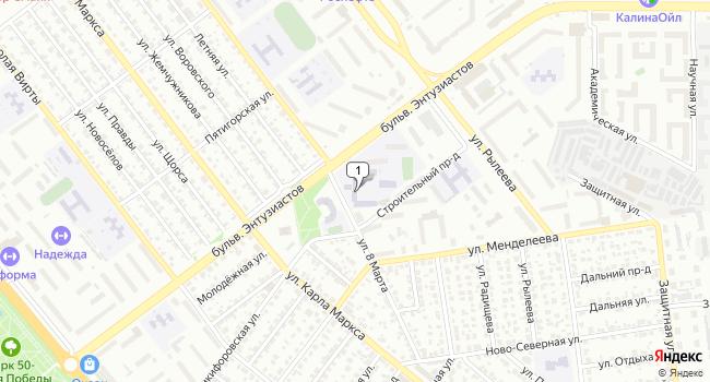 Арендовать офис 2450 м<sup>2</sup> в Тамбове по адресу Россия, Тамбов, бульвар Энтузиастов, 2