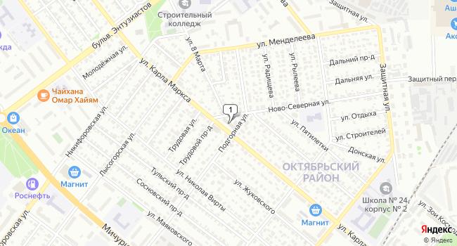 Арендовать офис 800 м<sup>2</sup> в Тамбове по адресу Россия, Тамбов, улица Карла Маркса, 343А