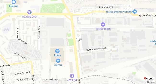 Арендовать торговую площадь 400 м<sup>2</sup> в Тамбове по адресу Россия, Тамбов, Советская улица, 191