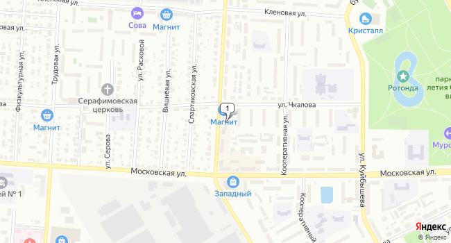 Купить торговую площадь 296 м<sup>2</sup> в Муроме по адресу Россия, Владимирская область, Муром, улица Лаврентьева, 3