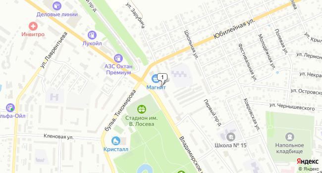 Арендовать торговую площадь 308 м<sup>2</sup> в Муроме по адресу Россия, Владимирская область, Муром, Владимирская улица, 37