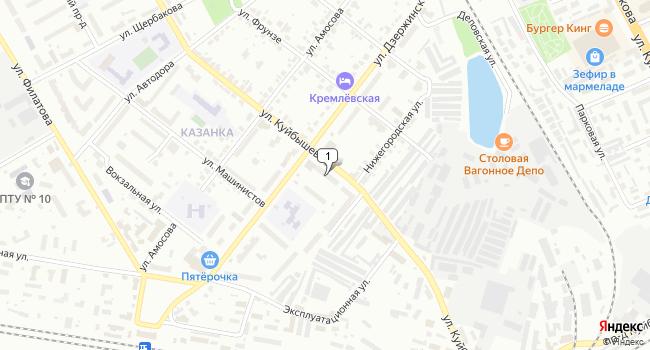 Купить торговую площадь 1080 м<sup>2</sup> в Муроме по адресу Россия, Владимирская область, Муром, улица Куйбышева, 2