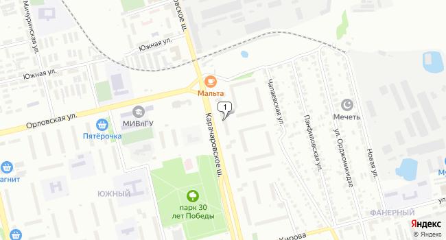 Купить торговую площадь 321 м<sup>2</sup> в Муроме по адресу Россия, Владимирская область, Муром, Карачаровское шоссе, 26