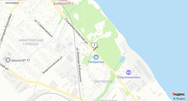 Купить производственное помещение 3130 м<sup>2</sup> в Кинешме по адресу Россия, Ивановская область, Кинешма, Социалистическая улица