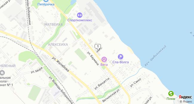 Купить производственное помещение 746 м<sup>2</sup> в Кинешме по адресу Россия, Ивановская область, Кинешма, Социалистическая улица, 16