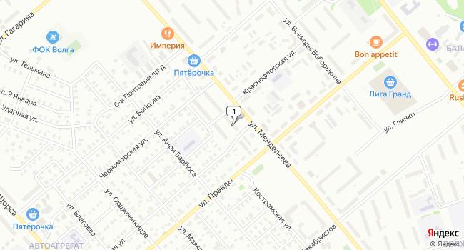 Купить торговую площадь 113 м<sup>2</sup> в Кинешме по адресу Россия, Ивановская область, Кинешма, улица Менделеева, 1