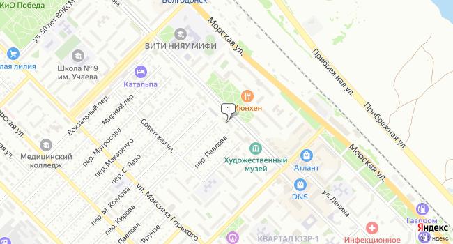 Арендовать торговую площадь 80 м<sup>2</sup> в Волгодонске по адресу Россия, Ростовская область, Волгодонск, улица Ленина, 100