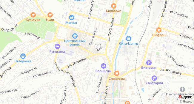 Купить земельный участок 800 м<sup>2</sup> в Кисловодске по адресу Россия, Ставропольский край, Кисловодск, 6