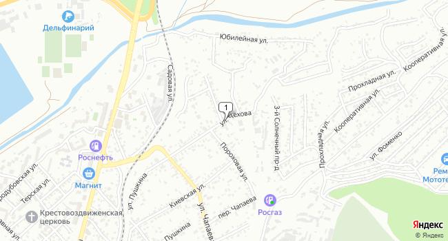 Купить земельный участок 600 м<sup>2</sup> в Кисловодске по адресу Россия, Ставропольский край, Кисловодск, улица Чехова