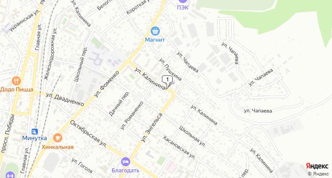 Купить земельный участок 600 м<sup>2</sup> в Кисловодске по адресу Россия, Ставропольский край, Кисловодск, улица Калинина
