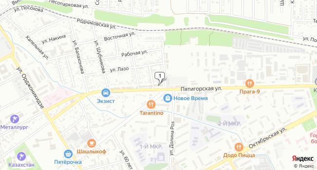 Арендовать офис 80 м<sup>2</sup> в Ессентуках по адресу Россия, Ставропольский край, Ессентуки, Пятигорская улица, 115А