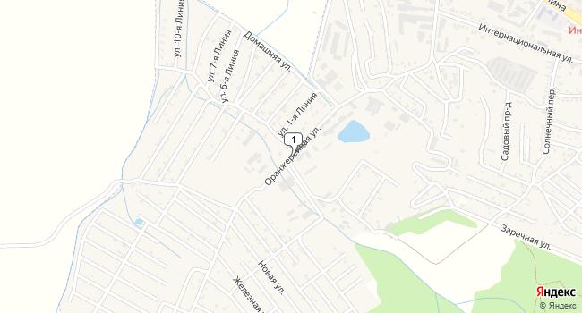 Купить земельный участок 500 м<sup>2</sup> в Железноводске по адресу Россия, Ставропольский край, Железноводск, Оранжерейная улица
