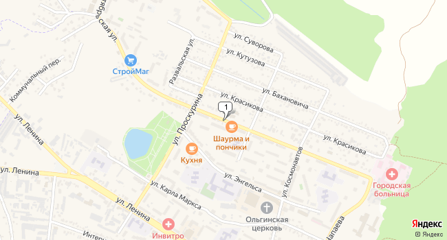 Купить земельный участок 72000 м<sup>2</sup> в Железноводске по адресу Россия, Ставропольский край, Железноводск, Октябрьская улица