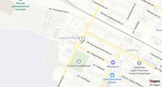 Купить земельный участок 800 м<sup>2</sup> в Минеральных Водах по адресу Россия, Ставропольский край, Минеральные Воды, Железноводская улица, 19