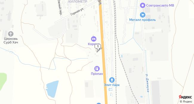 Купить земельный участок 13200 м<sup>2</sup> в Минеральных Водах по адресу Россия, Ставропольский край, Минеральные Воды, Советская улица, 1