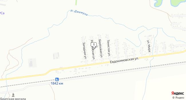Купить земельный участок 800 м<sup>2</sup> в Минеральных Водах по адресу Россия, Ставропольский край, Минеральные Воды, Российская улица