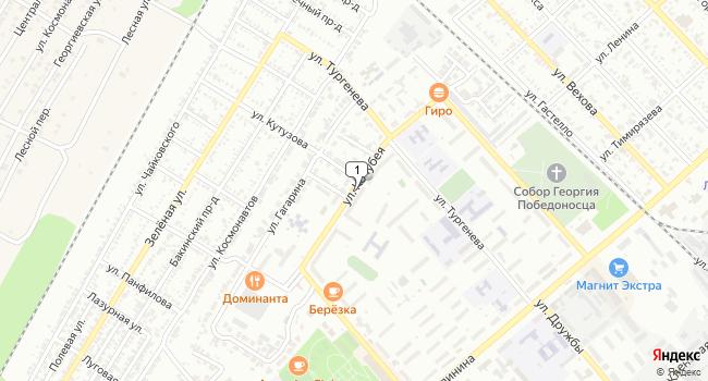 Арендовать офис 25 м<sup>2</sup> в Георгиевске по адресу Россия, Ставропольский край, Георгиевск, улица Кочубея