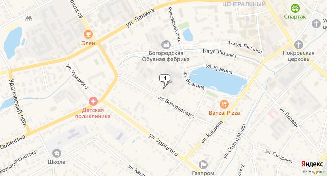 Купить торговую площадь 7500 м<sup>2</sup> в г. Боск по адресу Россия, Нижегородская область, Богородск, улица Володарского, 33