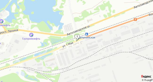 Арендовать склад 1200 м<sup>2</sup> в Дзержинске по адресу Россия, Нижегородская область, Дзержинск, территория Восточный промрайон, улица 1 Мая