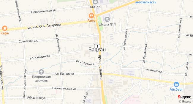Купить производственное помещение 5854 м<sup>2</sup> в Баксане по адресу Россия, Кабардино-Балкарская Республика, Баксан