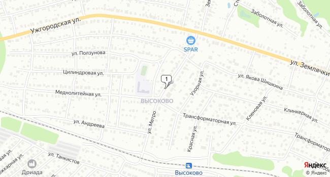 Арендовать офис 73 м<sup>2</sup> в Нижнес Новгороде по адресу Россия, Нижний Новгород, улица Метро