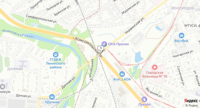 Арендовать офис 450 м<sup>2</sup> в Нижнес Новгороде по адресу Россия, Нижний Новгород, Комсомольское шоссе