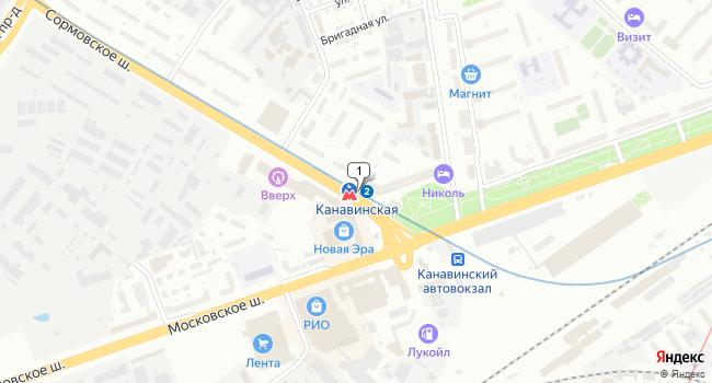 Арендовать офис 90 м<sup>2</sup> в Нижнес Новгороде по адресу Россия, Нижний Новгород, Сормовская линия, метро Канавинская