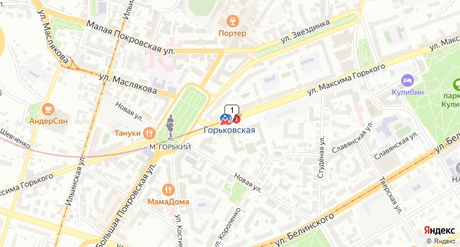 Арендовать офис 380 м<sup>2</sup> в Нижнес Новгороде по адресу Россия, Нижний Новгород, Автозаводская линия, метро Горьковская