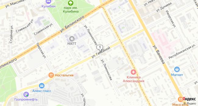 Арендовать офис 300 м<sup>2</sup> в Нижнес Новгороде по адресу Россия, Нижний Новгород, улица Ломоносова