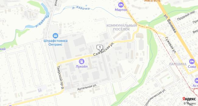 Арендовать офис 734 м<sup>2</sup> в Нижнес Новгороде по адресу Россия, Нижний Новгород, Салганская улица