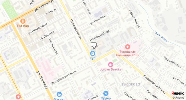 Арендовать офис 500 м<sup>2</sup> в Нижнем Нове по адресу Россия, Нижний Новгород, Полтавская улица, 30
