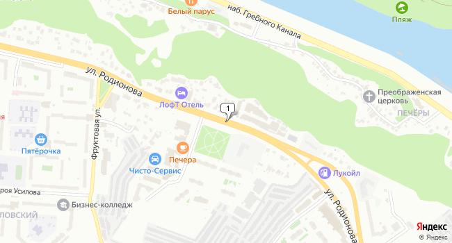 Арендовать офис 1100 м<sup>2</sup> в Нижнес Новгороде по адресу Россия, Нижний Новгород, улица Родионова