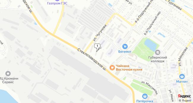 Арендовать торговую площадь 363 м<sup>2</sup> в Боре по адресу Россия, Нижегородская область, Бор, улица Чугунова, 5
