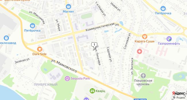 Купить коммерческую недвижимость 440 м<sup>2</sup> в Боре по адресу Россия, Нижегородская область, Бор, улица Лихачева, 5А