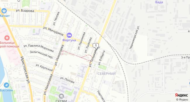 Купить склад 350 м<sup>2</sup> в Владикавказе по адресу Россия, Республика Северная Осетия-Алания, Владикавказ, улица Тельмана